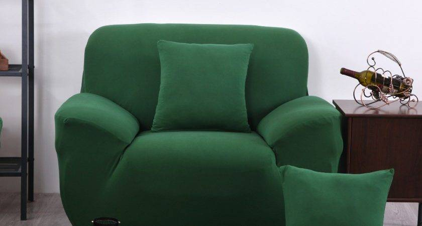 New Green Color Spandex Sofa Cover Furniture