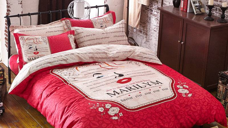New High Quality Bedding Set Cotton Pcs Bed