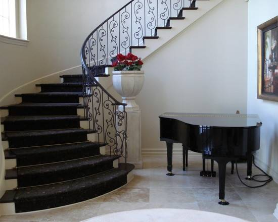 New Home Designs Latest Modern Homes Stair Railing Grill