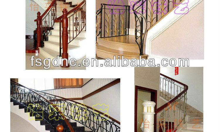 New Style Stair Grill Design Wrought Iron Buy