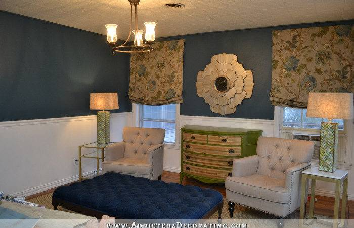 New Teal Walls Plans Build Fireplace