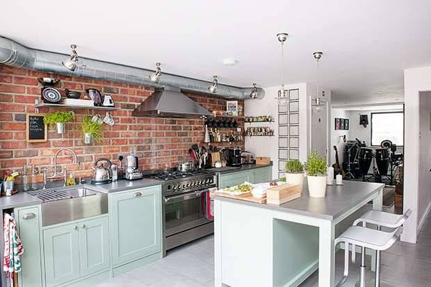 New York Loft Style Kitchen Extension Real Homes
