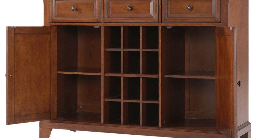 Newport Buffet Server Sideboard Cabinet Wine