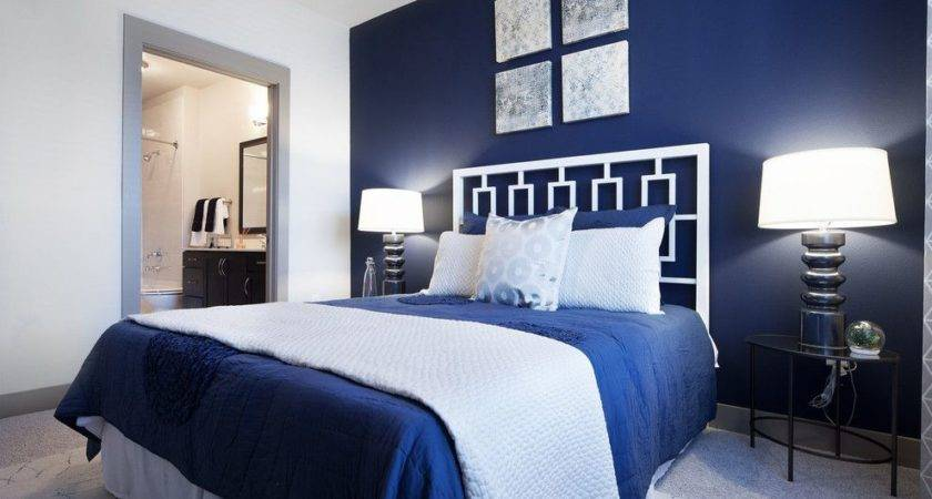 Nice Navy Blue White Bedroom Ideas Upon Small Home