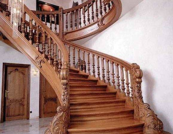 Nice Stair Design Ideas Wood Staircase Carved