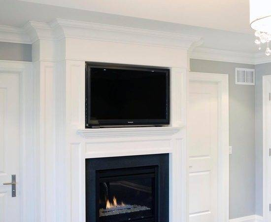 Niche Over Fireplace Design Ideas