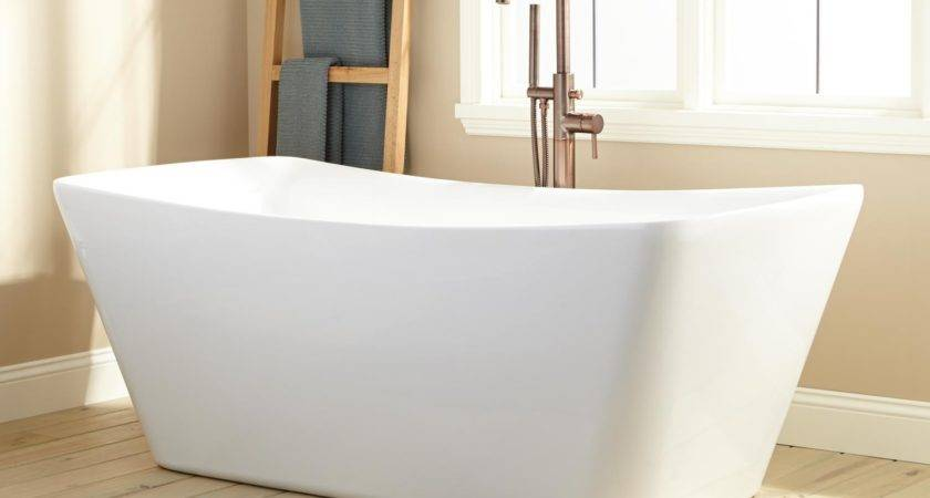 Nina Acrylic Freestanding Tub Bathtubs Bathroom