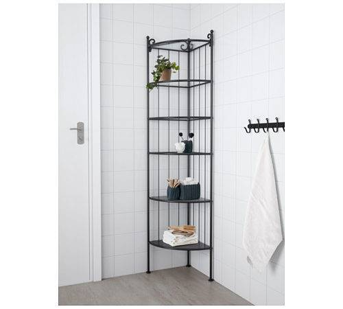 Nnsk Corner Shelf Unit Black Ikea