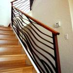 Ocean Theme Stairway Railing Banister Interior Design Ideas