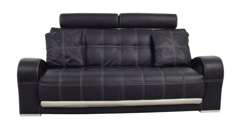 Off Black Leather Sofa Pillows Sofas