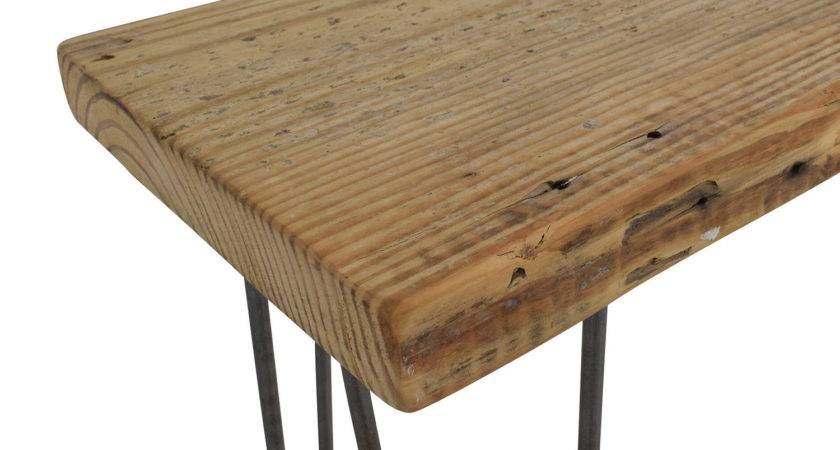 Off Custom Rustic Reclaimed Wood Console Table Tables