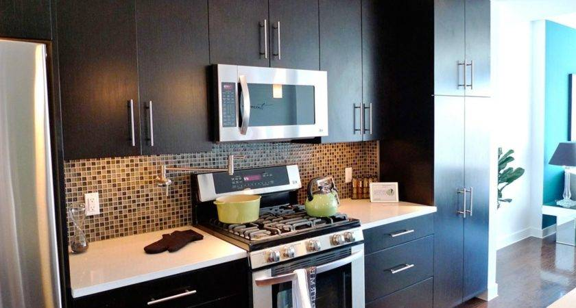 One Wall Galley Kitchen Design Two