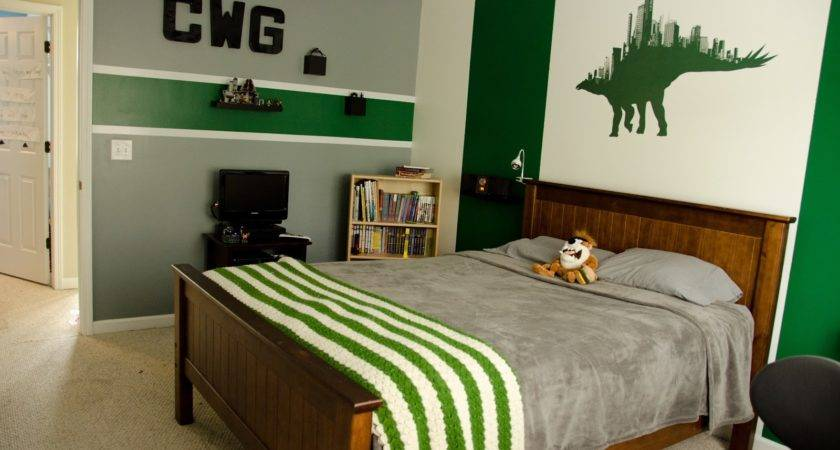 Only Gets Better Cameron New Green Grey Bedroom