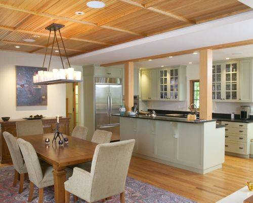 Open Kitchen Dining Room Home Design Ideas