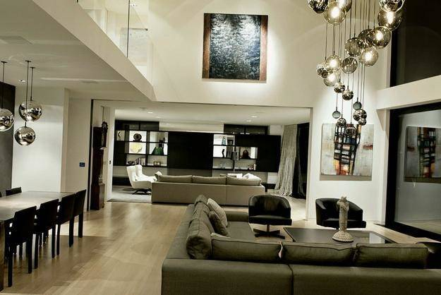 Open Plan Living Room Designs Modern Interior