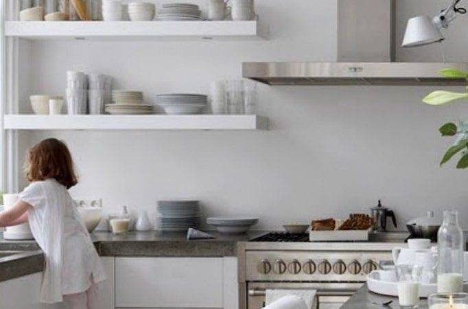 Open Shelving Affordable Kitchen