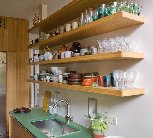 Open Shelving Kitchen Town Country Living