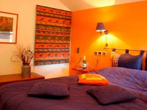 Orange Bedroom Ideas Dgmagnets