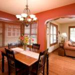 Orange Brown Dining Room Imgkid