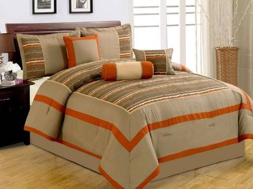 Orange Grey Bedding Sets Sweetest Slumber