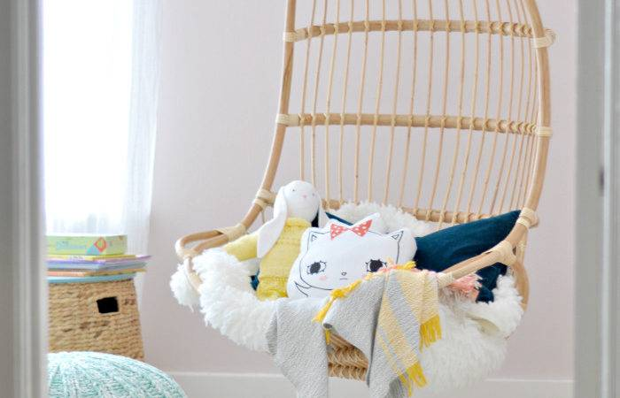 Orc Girl Room Hanging Chair Fall