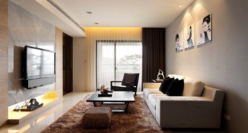 Organize Modern Living Room Furniture Small Spaces