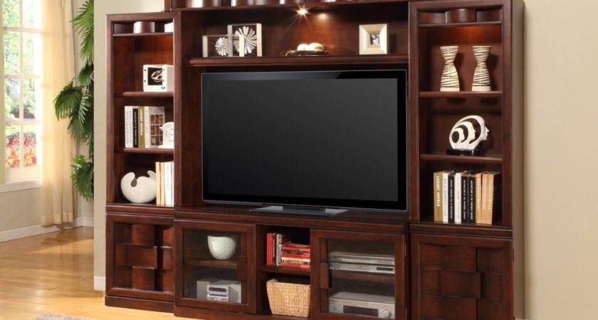 Oslo Estate Wall Unit Large Stand Entertainment Center