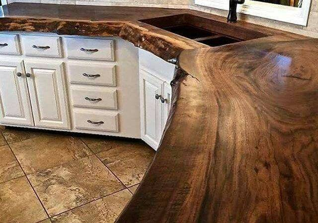 Our Favorite Reclaimed Wood Counter Tops Kitchen Bars