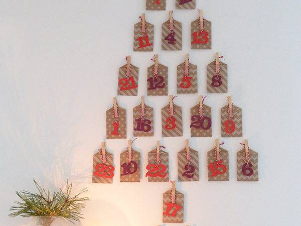 Our Homemade Advent Calendar Growing Spaces