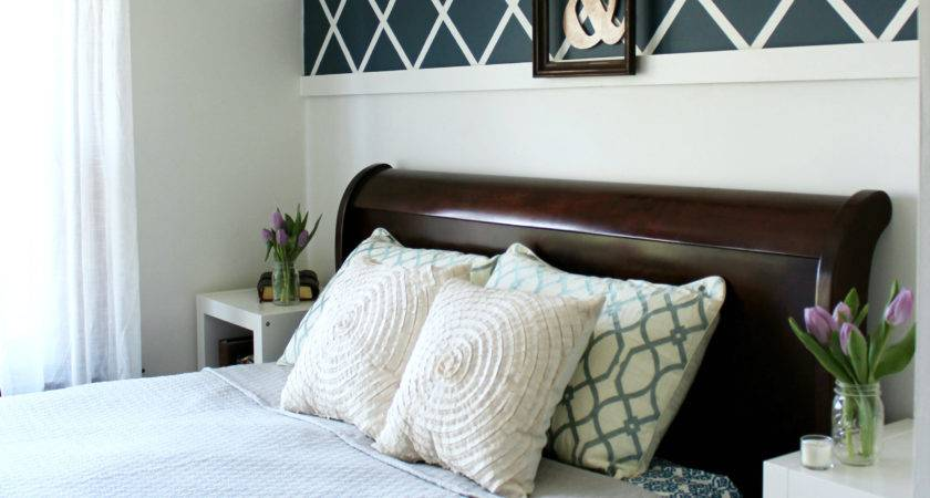 Our Master Bedroom Above Bed Decor Christinas