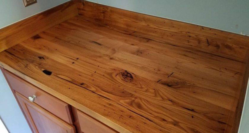 Our Reclaimed Wood Kitchen Countertops Make Bold Statement