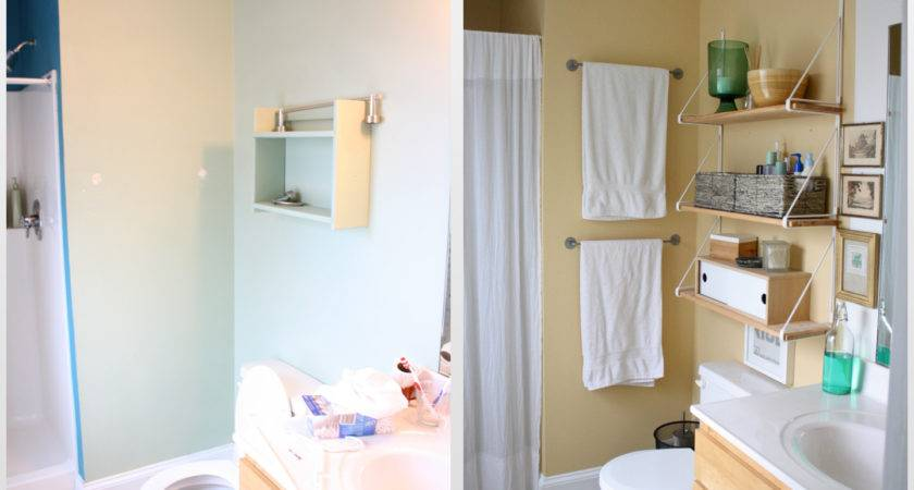 Our Rental Bathroom Makeovers Before After Young
