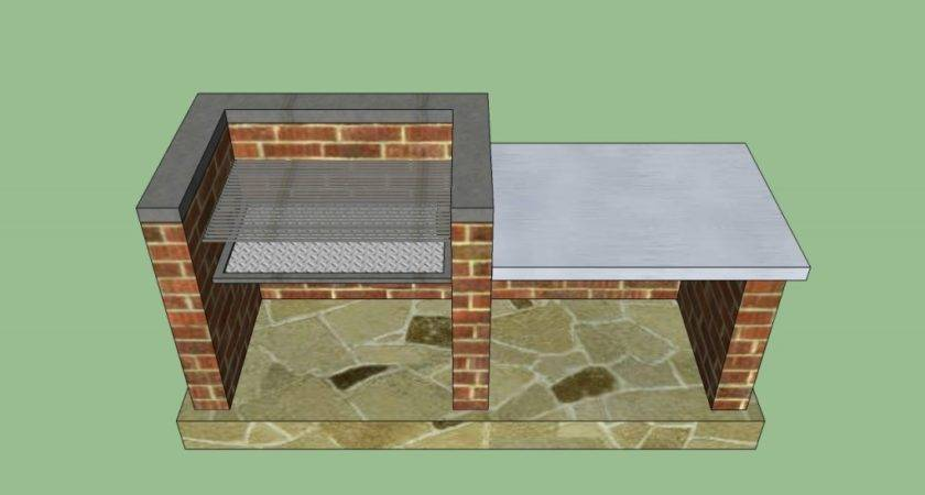 Outdoor Barbeque Designs Howtospecialist Build