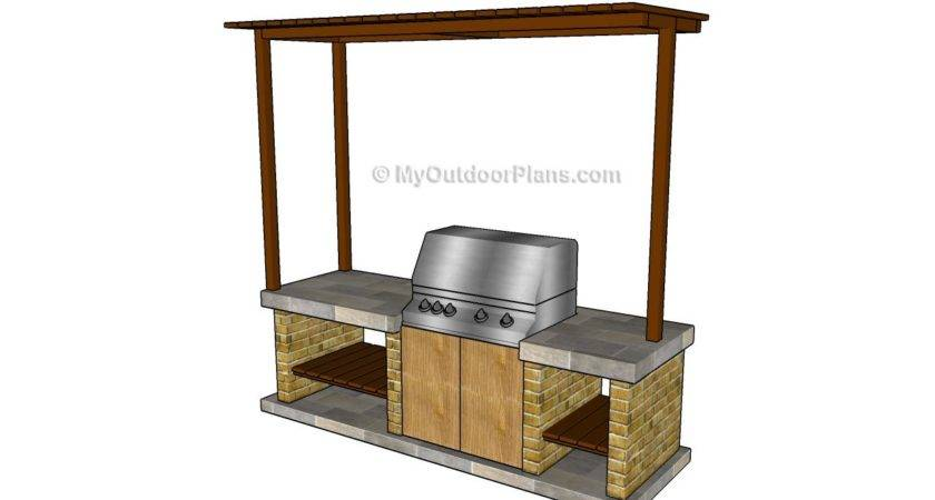 Outdoor Barbeque Designs Plans Diy Shed