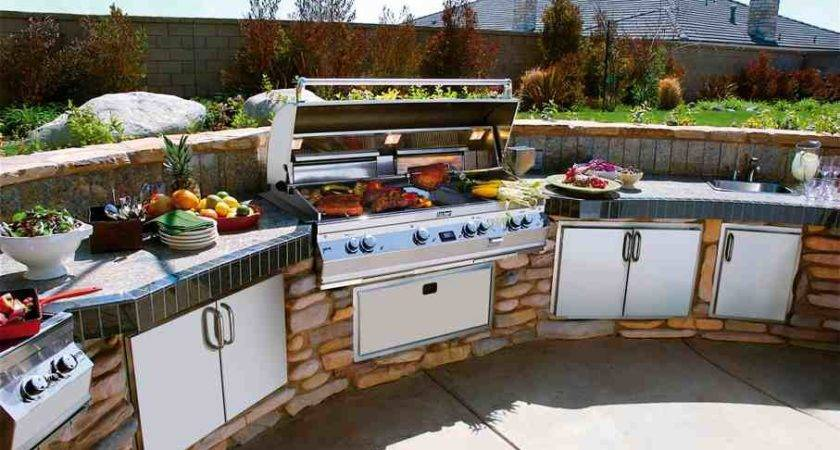 Outdoor Barbeque Living Areas Kitchentoday