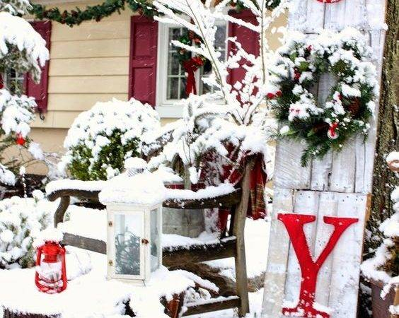 Outdoor Curb Appeal Holiday Decorating Ideas Christmas