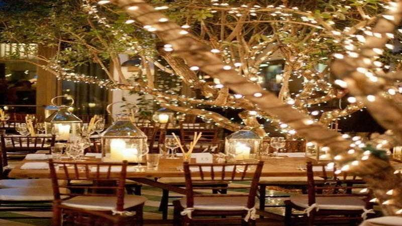 Outdoor Dinner Party Ideas Lighting Decoration Home
