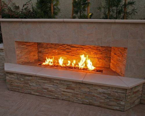 Outdoor Gas Fireplace Home Design Ideas Remodel