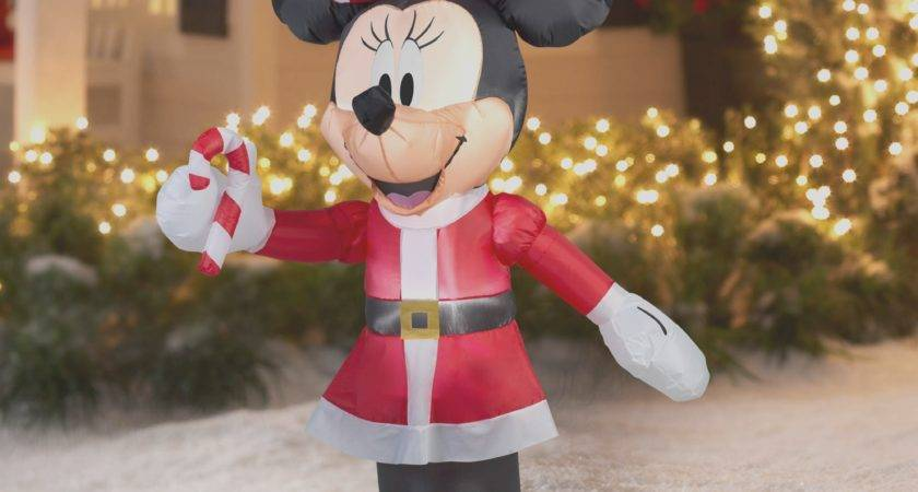 Outdoor Inflatable Christmas Decorations Awesome Mickey