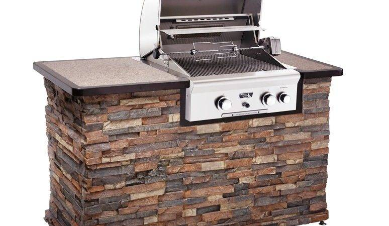 Outdoor Kitchen Natural Gas Grill Post Built Grills