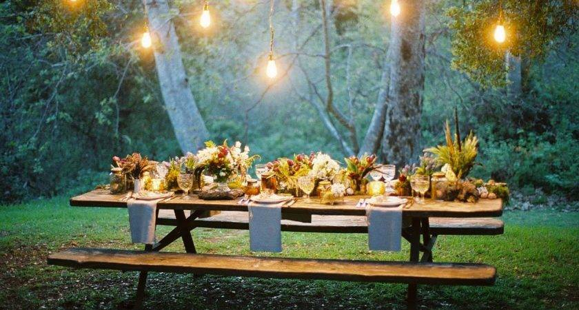 Outdoor Thanksgiving Table Settings Dining Alfresco