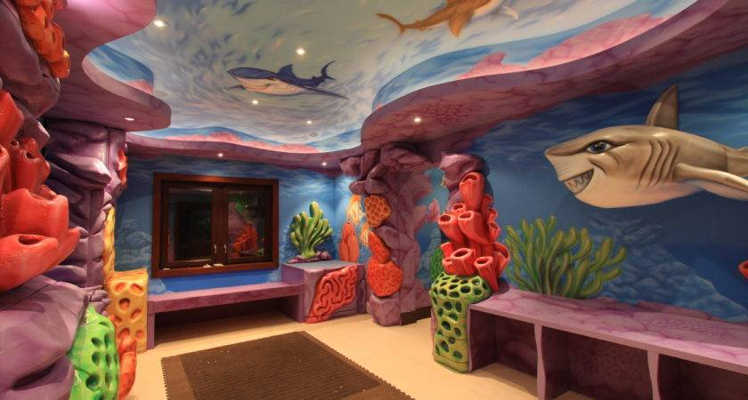 Outstanding Ocean Themes Playroom Ideas Fish Sea