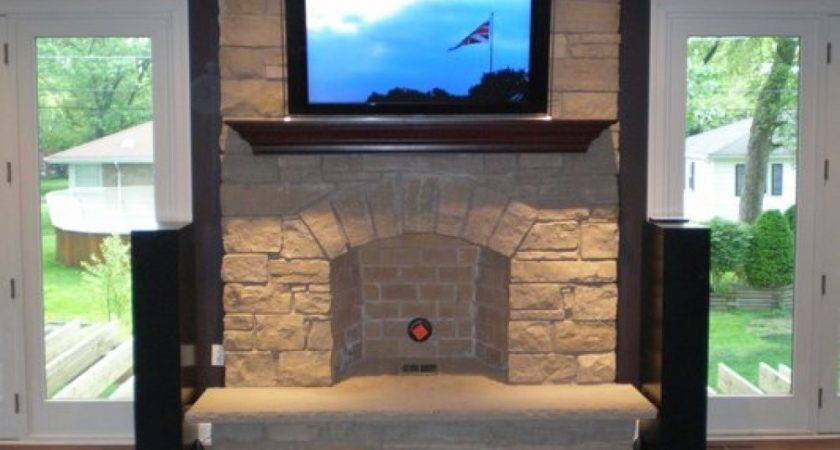 Over Fireplace Ideas