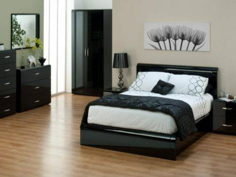 Oversized Bedroom Furniture Black White Photos