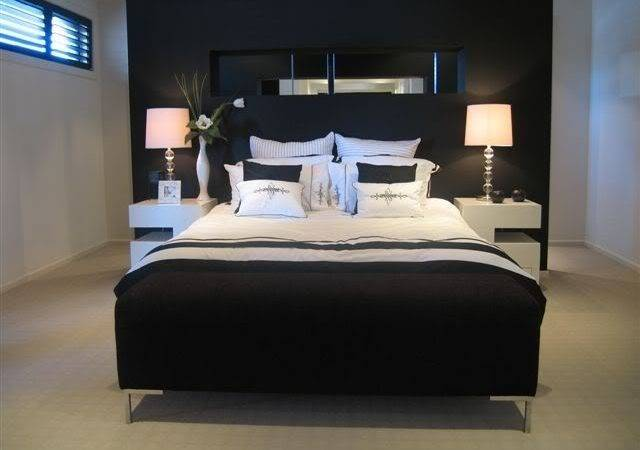 Paint Black Strangely Perfect Color Your Bedroom