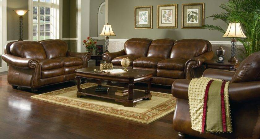 Paint Colors Dark Brown Leather Furniture