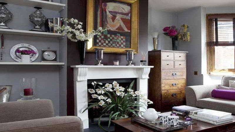 Paint Colors Living Room Fireplace
