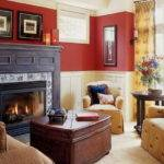 Paint Colors Living Room Walls Fireplace Home