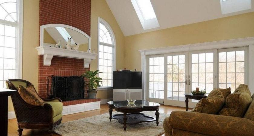 Paint Colors Room Fireplace Home Combo