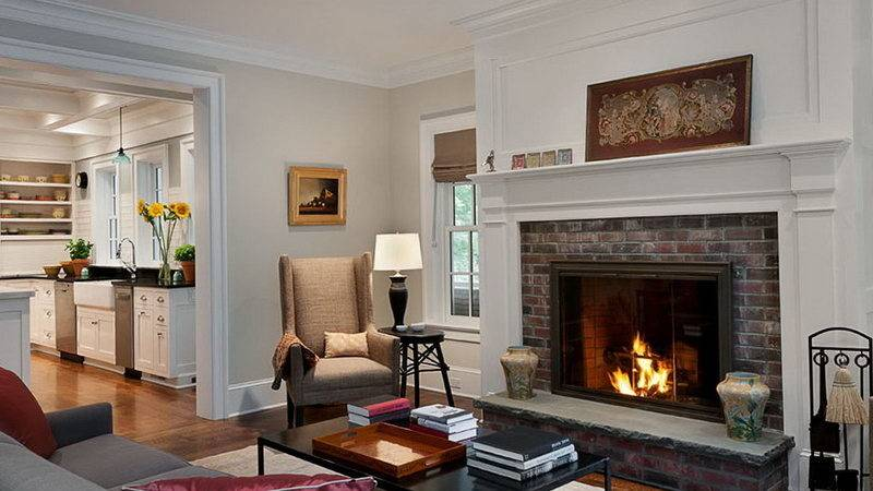 Paint Colors Room Fireplace Home Design